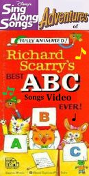 Disney's Sing Along Songs Adventures of Richard Scarry's Best ABC Songs Video Ever