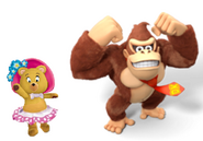Tessie and Donkey kong