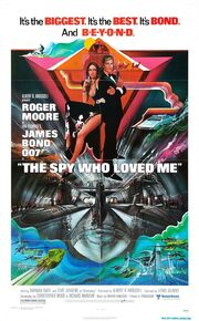 1977 - The Spy Who Loved Me Movie Poster