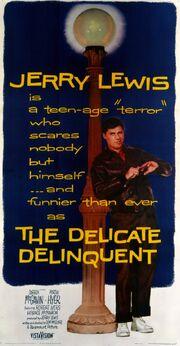 1957 - The Delicate Delinquent Movie Poster