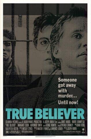 File:1989 - True Believer Movie Poster.jpg
