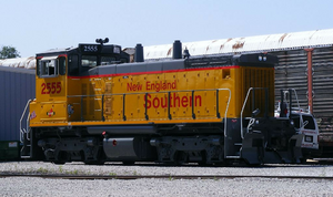 Fireside Girls Excursion Train - Locomotive roster-Leased SW1500 2555 (NEGS)