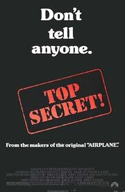 1984 - Top Secret! Movie Poster 2