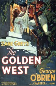 1932 - The Golden West Movie Poster