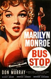 1956 - Bus Stop Movie Poster