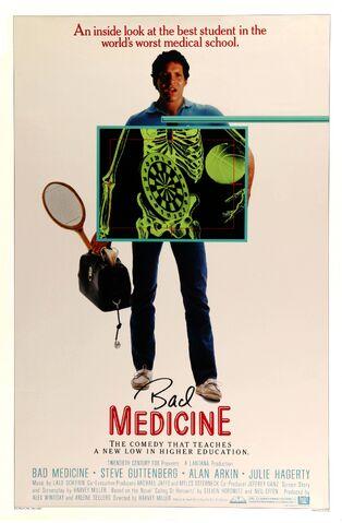 File:1985 - Bad Medicine Movie Poster.jpg