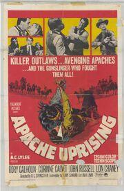 1965 - Apache Uprising Movie Poster