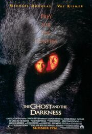 1996 - The Ghost and the Darkness Movie Poster -1