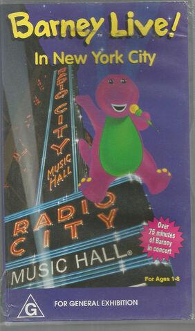 File:Barney Live In New York City Australian VHS.JPG