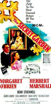 1949 - The Secret Garden Movie Poster