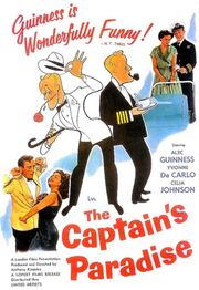 1953 - The Captain's Paradise Movie Poster