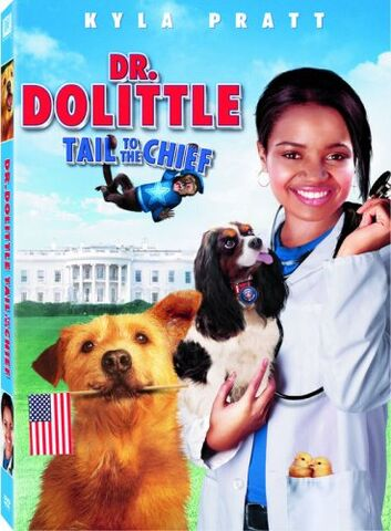 File:2008 - Dr. Dolittle - Tail to the Chief DVD Cover.jpg