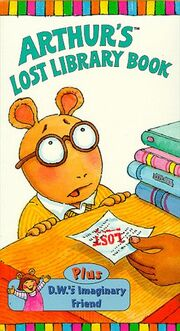 Arthur's Lost Library Book VHS Cover