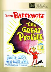 1940 - The Great Profile DVD Cover (2014 Fox Cinema Archives)