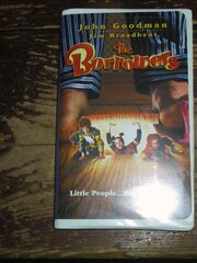 The Borrowers on VHS