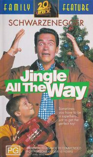 Jingle all the way australian vhs