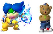 Ludwiga and Master tubby bear