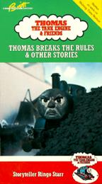 1990 VHS Thomas Breaks The Rules