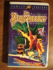 The Pagemaster VHS