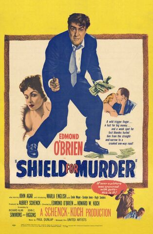 File:1954 - Shield for Murder Movie Poster.jpg