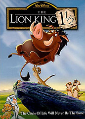 The lion king 1 1 2 alternative vhs