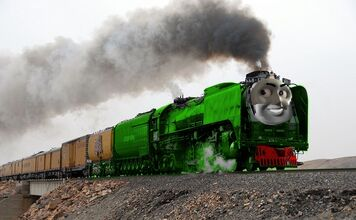 Phil the Green Union Pacific Engine