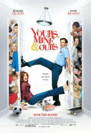 Yours Mine and Ours Poster