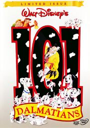101 Dalmatians Limited Issue DVD