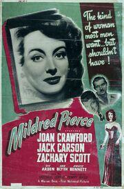 1945 - Mildred Pierce Movie Poster