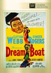 1952 - Dreamboat DVD Cover (2012 Fox Cinema Archives)