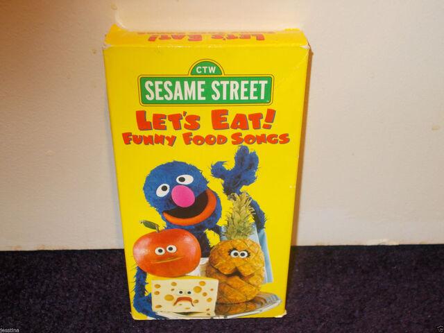 File:Lets Eat Funny Food Songs.jpg