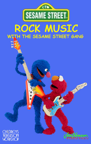 Rock Music With the Sesame Street Gang Cover