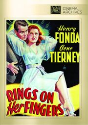 1942 - Rings on Her Fingers DVD Cover (2012 Fox Cinema Archives)