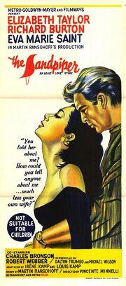 1965 - The Sandpiper Movie Poster -2