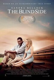 2009 - The Blind Side Movie Poster -2