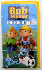 Bob The Builder The Big Game VHS