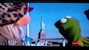 Kermit and Piggy in a MasterCard Commercial