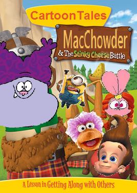 CartoonTales MacChowder DVD cover