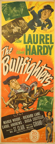 File:1945 - The Bullfighters Movie Poster.jpg