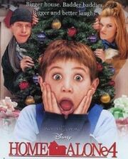 Home alone 4 tv print ad