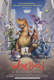 We're Back A Dinosaur Story (1993) Poster