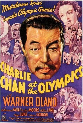 File:1937 - Charlie Chan at the Olympics Movie Poster.jpg