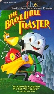 The Brave Little Toaster 1990 VHS