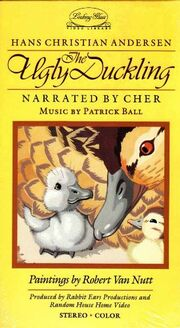 The Ugly Duckling 1986 VHS Cover