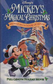 Snowed in at House of Mouse