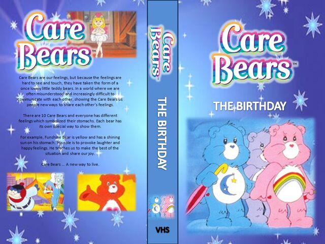 File:Care Bears - The Birthday VHS.jpg