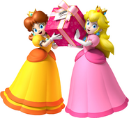 Peach and Daisy Present For You