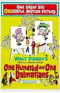 One Hundred and One Dalmatians movie poster - Copy