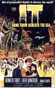 1955 - It Came from Beneath the Sea Movie Poster