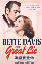 1941 - The Great Lie Movie Poster